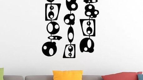 Samolepka na zeď - Abstrakce