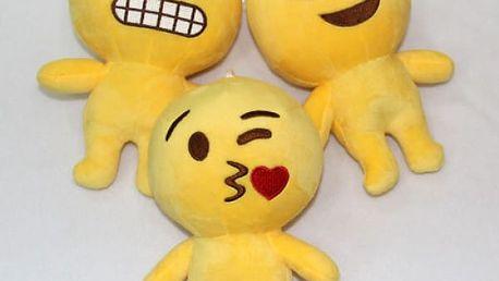 Roztomilý plyšák Emoji 35 cm