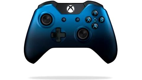 Microsoft Xbox One Langley Wireless (GK4-00029) modrý