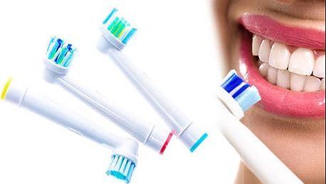 Náhradní hlavice na zubní kartáčky, poštovné zdarma