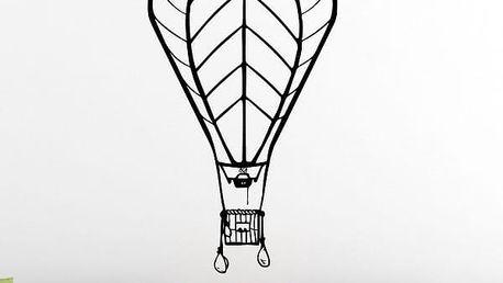 Samolepka na zeď - Horkovzdušný balon