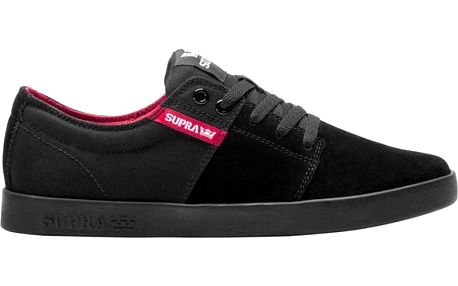 boty SUPRA - Stacks Ii Black/Red-Black (052)