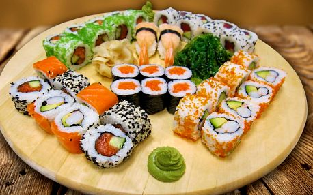 Chutě, co spolu ladí: Sushi sety plné lahůdek