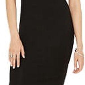 Forever 21 Dámské šaty Contrast-Trim T-Shirt Dress-černá S