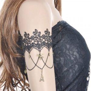 Sexy náramek pod rameno s krajkou