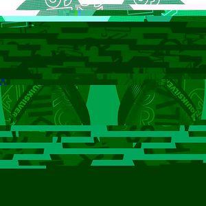 Quiksilver Pánské žabky Molokai Nitro Black/Green/Yellow AQYL100057-XKGY 44