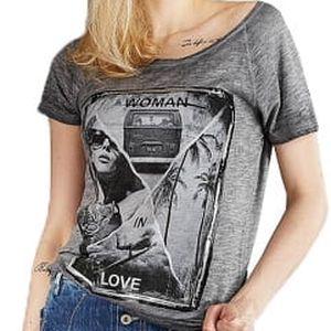 Edward Jeans Dámské triko Blanch Top 16.1.2.01.006 M