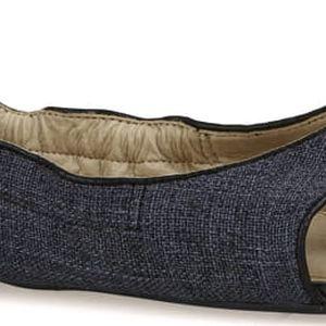 Butterfly Twists Skládací sandále Lottie Black Linen/Black BT03-002-101 37