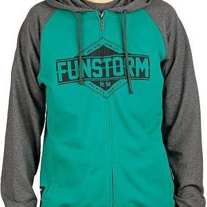 Funstorm Mikina Denoco Green SM-05612-07 XL