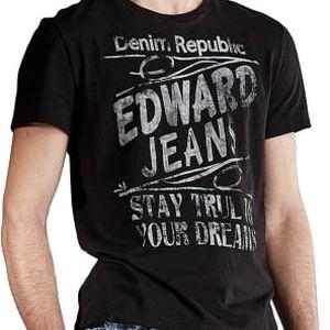 Edward Jeans Pánské triko Ricko T-Shirt 16.1.1.01.000 M