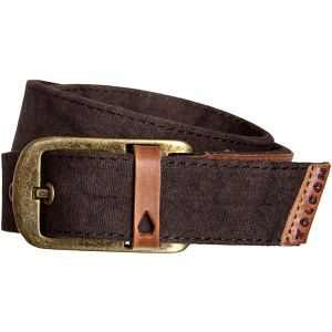 Volcom Opasek Volcomunity Leather Belt Old Blackboard D5931580-OBL S/M