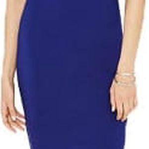 Forever 21 Dámské šaty Contrast-Trim T-Shirt Dress-modrá S
