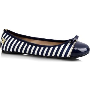 Butterfly Twists Skládací baleríny Cara Navy/White Stripe BT01-012-040 36