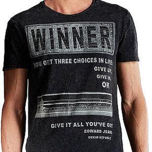 Edward Jeans Pánské triko Winner T-Shirt 16.1.1.01.009 L