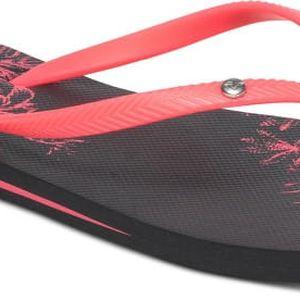Roxy Dámské žabky Bermuda Black/Pink ARJL100249-BBP 40