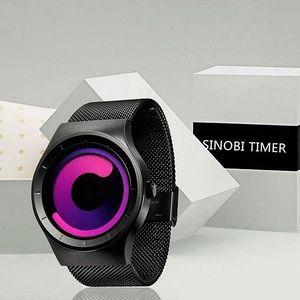 Stylové pánské hodinky s moderním designem!