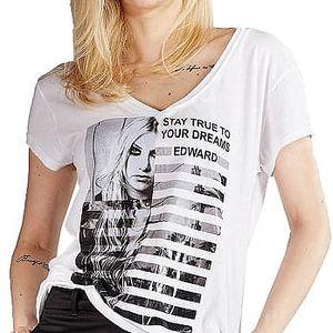 Edward Jeans Dámské triko Buffy Top 16.1.2.01.014 M