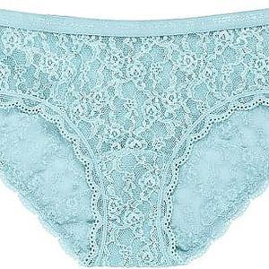 Victoria´s Secret Dámské kalhotky Hiphugger světle modré 333-812-3 M