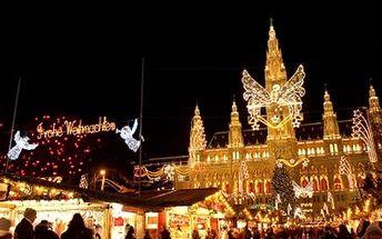1denní adventní Vídeň s nákupy v Primarku, užijte si kouzelnou atmosféru Vánoc ve Vídni.