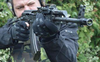 Zážitková střelba z několika druhů zbraní + sleva 15 % na jízdu v Hummeru H2, 3 varianty