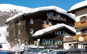 Residence Nuova Villa, Itálie, Alta Valtellina - Livigno, 8 dní, Vlastní, Bez stravy, Alespoň 2 ★★, sleva 25 %, bonus (Skipass v ceně)