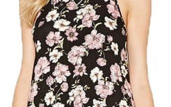 Forever 21 Dámské šaty Floral Cami Mini Dress S