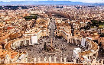 6denní zájezd s ubytováním do Říma, Verony a dále