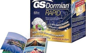 GS Dormian Rapid 60 kapslí + poukaz 250 Kč na CEWE fotoknihu od FOTOLABU