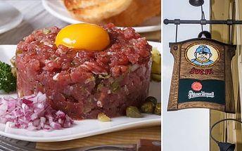 Tatarák v Restauraci Švejk ve Strašnicích