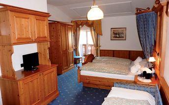 Hotel Relais Grünwald, Itálie, Dolomiti - Val di Fiemme / Obereggen, 5 dní, Vlastní, Polopenze, Alespoň 4 ★★★★, sleva 30 %, bonus (Skipass v ceně)