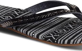 Roxy Dámské žabky Tangier Black ARJL200375-BLK 37
