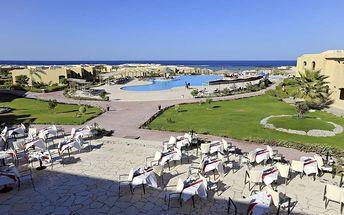 Silvestr u moře: Egypt - Marsa Alam na 8 dní, all inclusive s dopravou letecky z Prahy