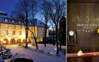 Ubytování v Praze pro dva se snídaní v Hotelu Na Zámečku v pokojích Standard nebo Superior s parkováním zdarma