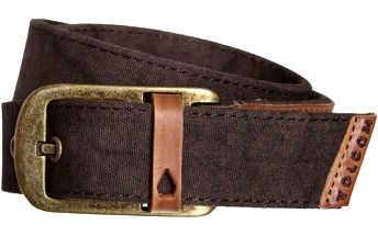Volcom Opasek Volcomunity Leather Belt Old Blackboard D5931580-OBL L/XL
