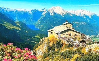 Zájezd na 1 den pro jednoho do Hitlerovy pevnosti Orlí hnízdo a k jezeru Konigsee v Německu.
