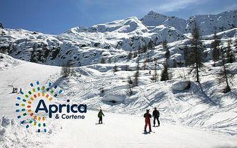 5–6denní Aprica (Itálie) | Hotel Posta*** | Doprava, ubytování, polopenze a skipas v ceně!