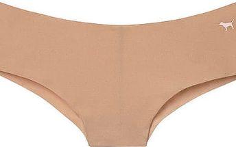 Victoria´s Secret Dámské kalhotky Pink No-Show Cheekster tělové 322-443-3 L