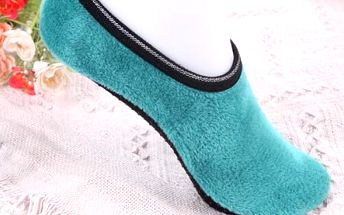 Teplé kotníkové ponožky pro ženy - 5 barev