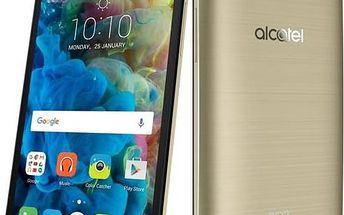 Mobilní telefon ALCATEL POP 4S 5095K (5095K-2GALE11) zlatý Software F-Secure SAFE 6 měsíců pro 3 zařízení (zdarma) + Doprava zdarma