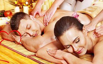 Partnerská masáž od rodilých Thajek
