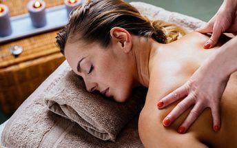 60 minut uvolňující masáže: 6 druhů pro 1 i pár