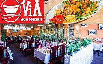 Sleva 30% na sushi a 40% na ostatní jídla ve Via Restauraci