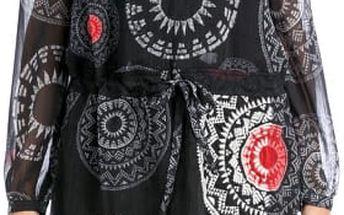 Desigual Dámské šaty Aert Negro 57V28K8 2000 40