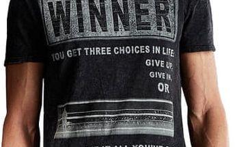 Edward Jeans Pánské triko Winner T-Shirt 16.1.1.01.009 M