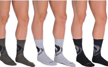Diesel Sada ponožek SKM-Ray Threepack Calzino SAYJ-QACA-03 M