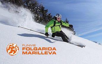 5–6denní Marilleva Folgarida (Alpy, Itálie) | Doprava, ubytování, polopenze, skipas v ceně | Dítě do 7 let jen za cenu dopravy | Hotel Sancamillo***