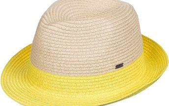 Roxy Slaměný klobouk Monoi Citrus ERJHA03049-YEC0 M/L