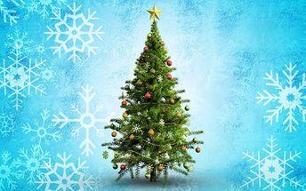 Umělý vánoční stromeček smrk s výškou 120 cm