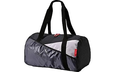 Skvělý dárek pro ženy: dámská sportovní taška Puma Studio Barrel Bag ve tvaru barelu