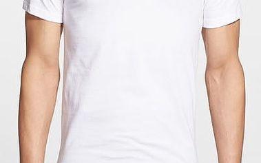 Ralph Lauren Polo Sada triček 3PACK Slim Fit Crewneck T-Shirt bílá XL